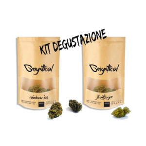 Kit degustazione: infiorescenze di cannabis light